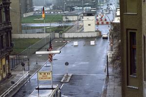Checkpoint Charlie at Berlin Wall