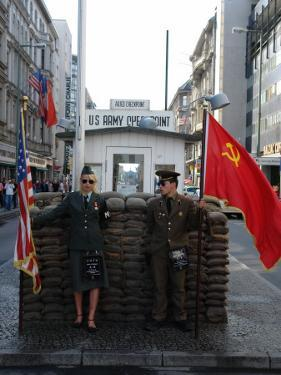 Checkpoint Charlie Reconstruction, Berlin, Germany