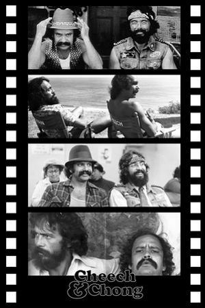 Cheech and Chong Filmstrip Movie Poster