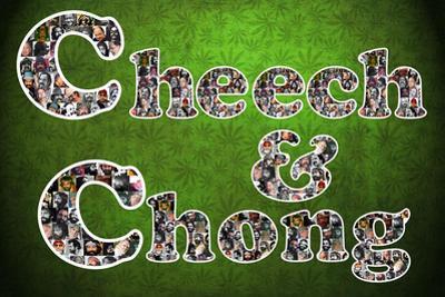 Cheech and Chong Mosaic Logo Movie Poster