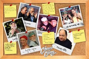 Cheech & Chong- Corkboard Diaries