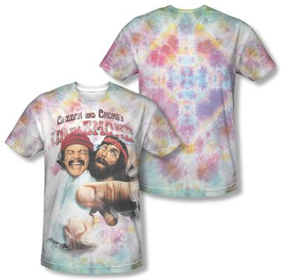 Cheech & Chong - Fried Tie Dyed (Front/Back Print)