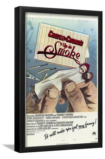 Cheech & Chong's Up in Smoke--Framed Art Print