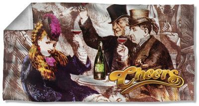 Cheers - Old Fashioned Beach Towel