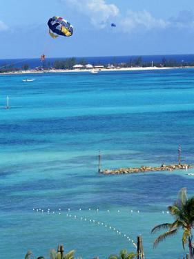 Parasailing, Nassau, Bahamas by Chel Beeson