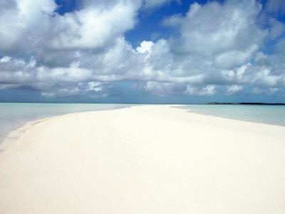 Shore and Clouds, Exzumas, Bahamas