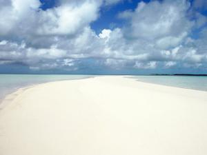 Shore and Clouds, Exzumas, Bahamas by Chel Beeson