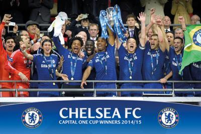 Chelsea - Capital One Winners Trophy