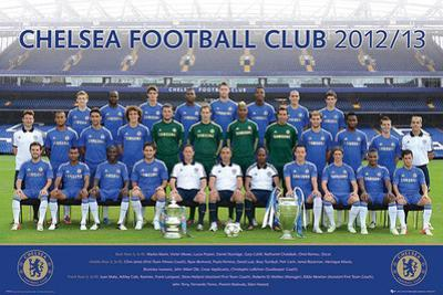 Chelsea FC Team Photo 2012-13