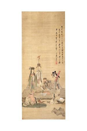 Immortals Celebrating a Birthday, 1649