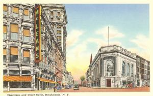 Chenango and Court Streets, Binghamton, New York
