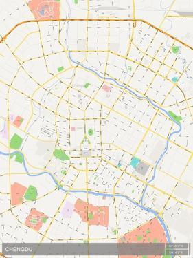 Chengdu, China Map