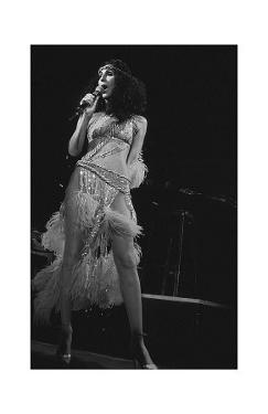 Cher in Feathers