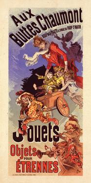Aux Buttes Chaumont - Jouets by Cheret