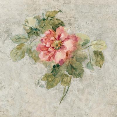 Provence Rose II Red and Neutral by Cheri Blum