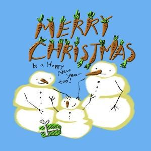 Snowmen Family Christmas by Cherie Roe Dirksen