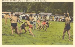 Cherokee Stickball, North Carolina