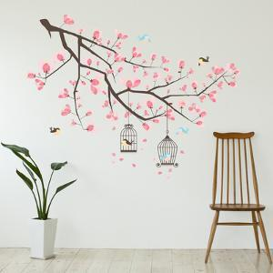 Wall decals posters for sale at allposters cherry blossom branch gumiabroncs Images