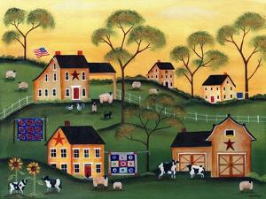 American Sunshine Country Farm by Cheryl Bartley