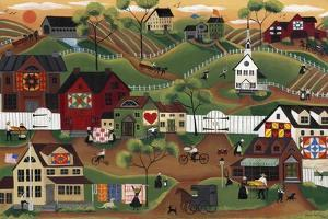 Amish Quilt Village by Cheryl Bartley