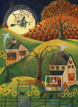 Halloween Witches House by Cheryl Bartley