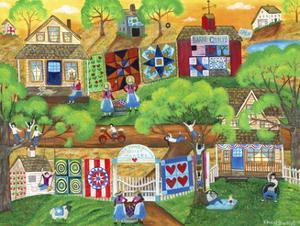 Olde Tyme Village Quilt Maker by Cheryl Bartley
