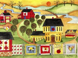 Sunrise Farm Apple Quilts 4 Sale Cheryl Bartley by Cheryl Bartley