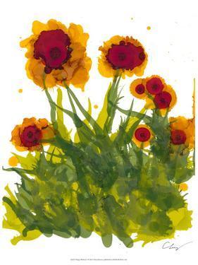 Poppy Whimsy V by Cheryl Baynes
