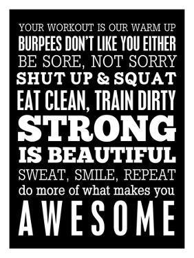 Fitness Motivation by Cheryl Overton