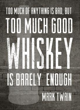 Good Whiskey by Cheryl Overton