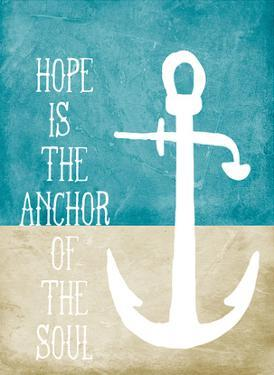 Hope is the Anchor by Cheryl Overton
