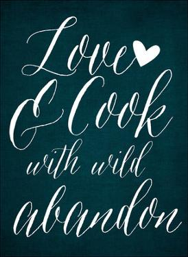Love & Cook - Blue by Cheryl Overton