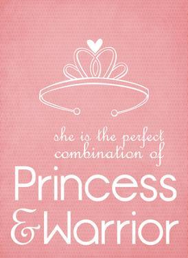Princess & Warrior by Cheryl Overton