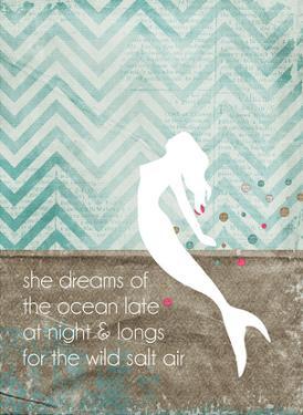 She Dreams Mermaid by Cheryl Overton
