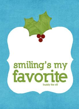 Smiling's my Favorite by Cheryl Overton