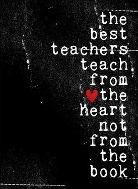 The best teachers by Cheryl Overton
