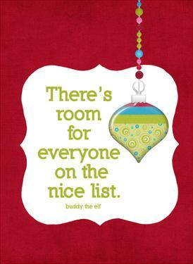 The Nice List by Cheryl Overton