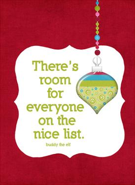 The Nice List by Cheryl Overton