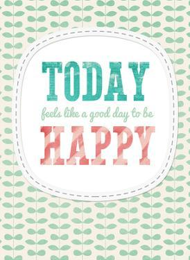 Today Happy by Cheryl Overton