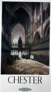 Chester Inside Cathedral