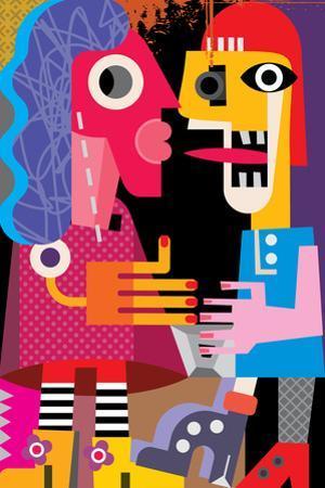 A Man and a Woman by chetverikov