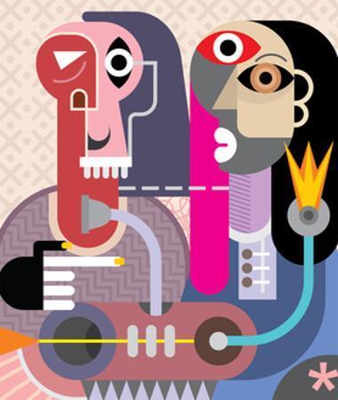 Man and Woman by chetverikov