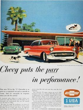 Chevrolet Ad, 1957