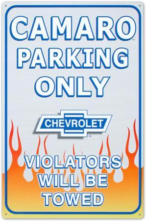 Chevrolet Chevy Camaro Car Parking Only