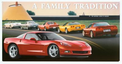 Chevrolet Chevy Corvette C6 A Family Tradition