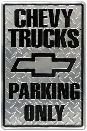 Chevrolet Chevy Trucks Parking Only