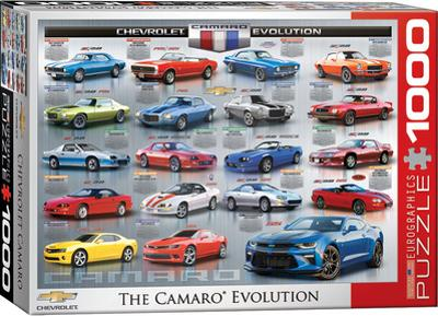 Chevrolet The Camaro Evolution 1000 Piece Puzzle