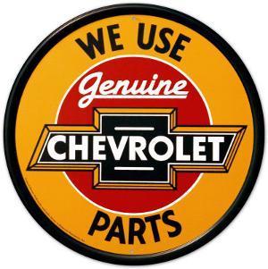 Chevy Genuine Parts Round