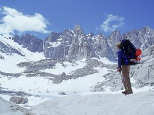 Man at Mt. Whitney, John Muir Wilderness, CA by Cheyenne Rouse