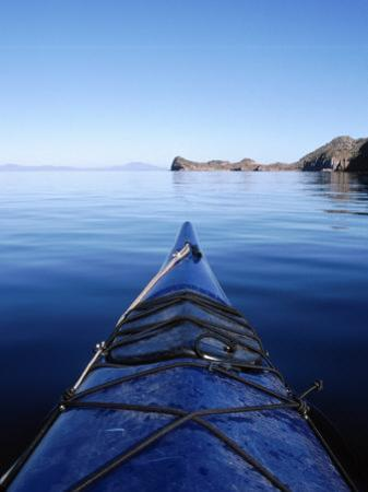 Sea Kayaking, Sea of Cortez, Baja, Mexico by Cheyenne Rouse